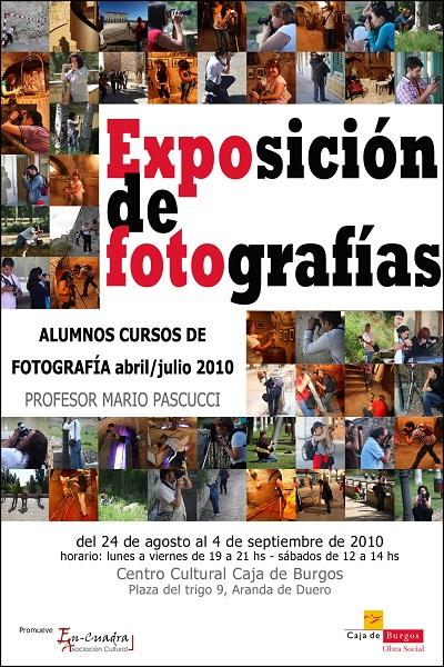 Exposición de fotografías en Burgos
