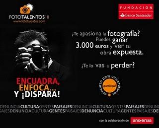 Concurso de fotografía, Fototalentos'11