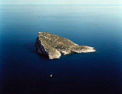 La isla de Benidorm retratada en una muestra